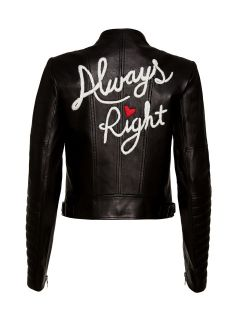 Alice + Olivia leather jacket $995